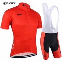 Top Rate Bxio Cycling Jersey Red Bike Jersey Men Breathable Cycle Jersey Quick Dry Ciclista Tour