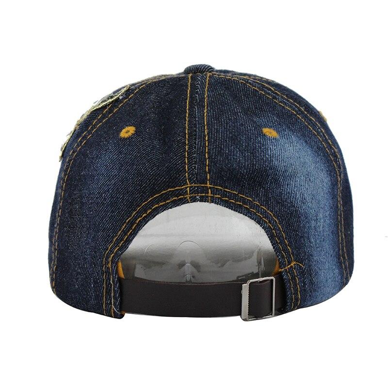 [FLB] Summer Baseball Cap For Women Flower Rhinestone Denim Baseball Cap Gorras Fall Hat For Womens Jean Caps Wholesale F244 6