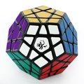 DaYan Megaminx I Velocidade Magic Cube Twisty Sem Sulcos Preto Grande Educacional Enigma do Brinquedo para Crianças