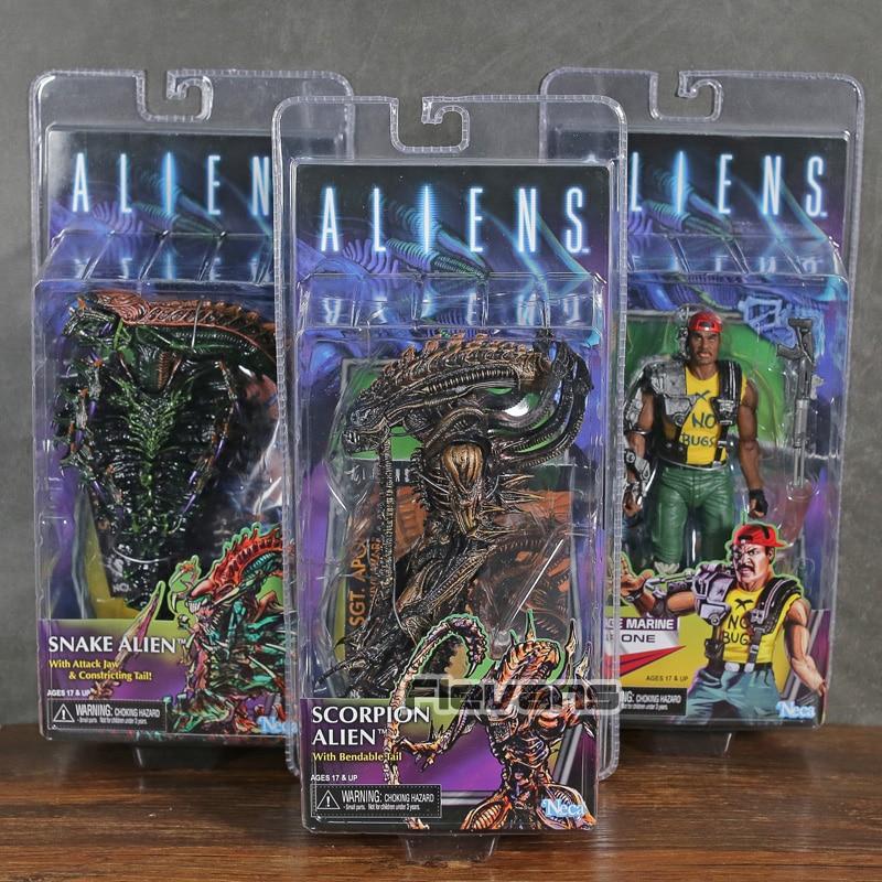 NECA Aliens Series 13 Apone / Snake Alien / Scorpion Alien 7 Action Figure Collectible Model ToyNECA Aliens Series 13 Apone / Snake Alien / Scorpion Alien 7 Action Figure Collectible Model Toy