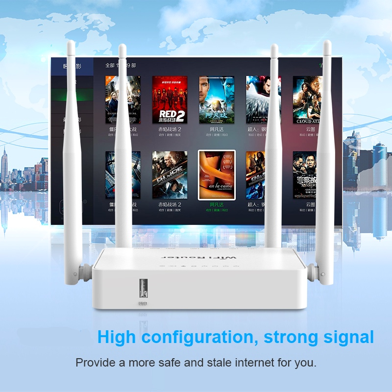 Soho Home Use 300Mbps OpenWRT Wireless Router 300Mbps Support Zyxel And Keenetic Omni II 3g Usb Modem 8372 /e3372