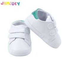 Baby Boy Sko Sneakers Efterår Solid Unisex Crib Sko Spædbarn PU Læder Fodtøj Toddler Moccasins Baby Pige First Walker Sko