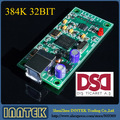 XMOS U8 Digital audio USB card Support DSD II2S Coaxial output 384K 32Bit , Free Shipping