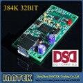 Xmos U8 цифровой аудио USB карты поддержка DSD II2S коаксиальный выход 384 К 32bit, Бесплатная доставка