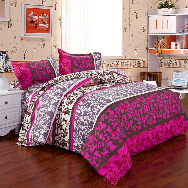 haute qualite mais prix pas cher retro arabesque motif ensembles de lit housse de couette et