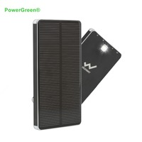 PowerGreen 10000mAh Solar Charger 2 Port USB Solar Power Bank External Battery Pack Charger For Phone