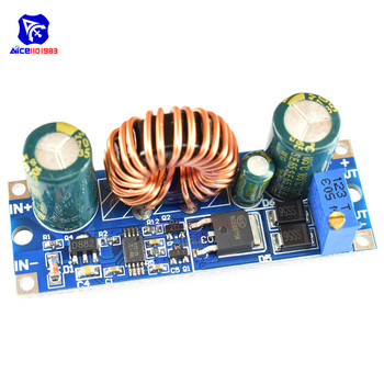 CV Adjustable 3A 30W DC 5.5 -30V to DC 0.5 -30V Step Up Down Buck Boost Converter Power Supply Module Voltage Regulator image