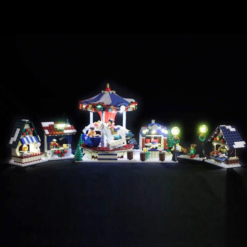 Led Light For Lego 10235 Christmas Winter Village Market Compatible 36010 Building Blocks Bricks Toys (only light+Battery box) led light for lego 10235 christmas winter village market compatible 36010 building blocks bricks toys only light battery box