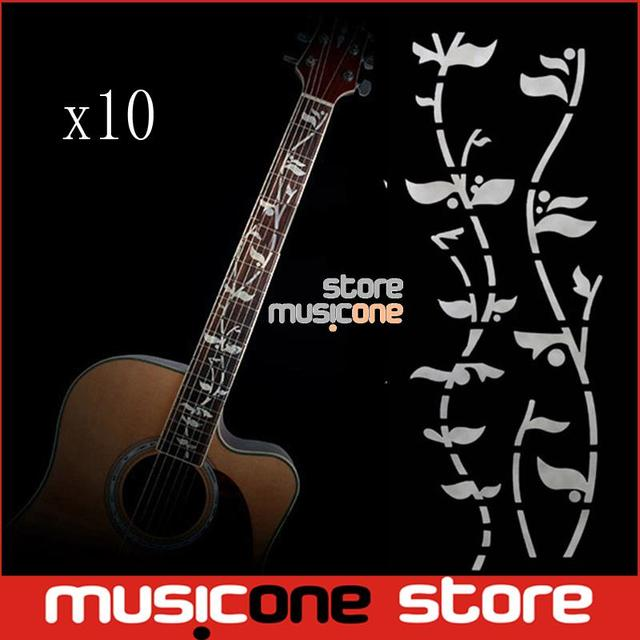 Wholesale guitar fret inlay stickers tree of life j custom fretboard decals for acoustic electric