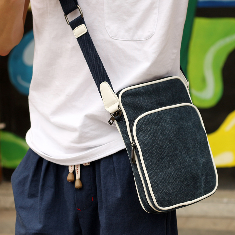 Aliexpress.com : Buy Diagonal canvas shoulder bag men Messenger ...