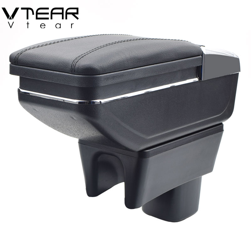 Vtear For SUZUKI Swift armrest box central Store content box cup holder ashtray products car styling
