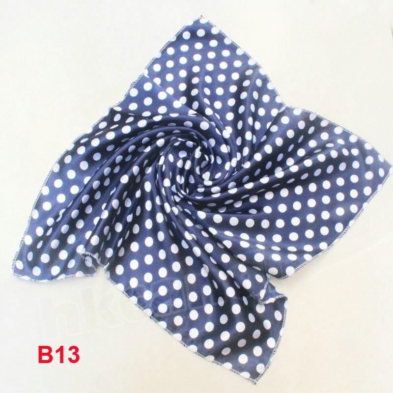 Baby Girl Boy Saliva Towel New spring and summer Scarf Small Square Scarf Women Silk handkerchief Foulard Women
