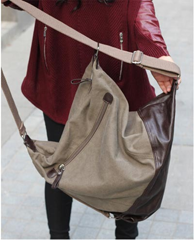 a8c27ae3e5c1 Woman Bags 2015 Women s Handbags Big Size Crossbody Bags For Women Famous  Brands Black Coffee Large Canvas Shoulder Bag W158-in Shoulder Bags from  Luggage ...