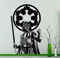 Darth Vader Star Wars Wand Vinyl Aufkleber Skywalker Schwarz Poster Aufkleber Home Interior Wohnzimmer Schlafzimmer Dekor Removable