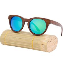Hot Sale Aviator Natural Wooden TAC Polarized Sunglasses