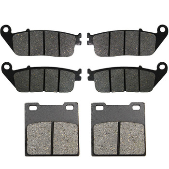 Motorcycle Front and Rear Brake Pads for Suzuki GSX 400 94-96 GSF650 GSF 650 Bandit 95-99 RF400 & RF 600 RF600 R 93-97 image