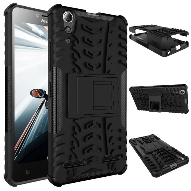 Hybrid TPU Armor Hard Case For Lenovo A6000 A6010 Plus Hard Case Impact Silicone Cover Shockproof Case For Lenovo K3 K30T K30W