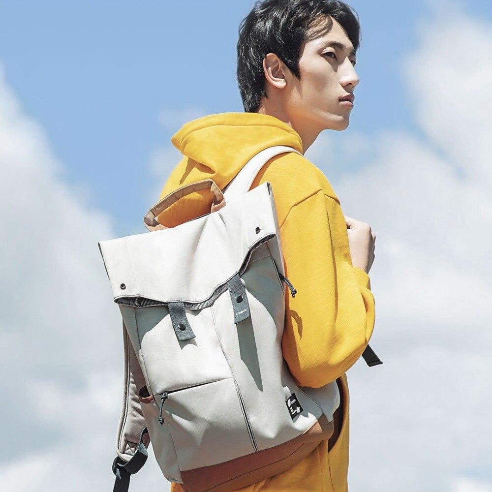 Xiaomi Urevo mochila Ipx4 repelente al agua 13L de gran capacidad mochila de las mujeres de los hombres de moda Casual 14/15 6 pulgadas bolso de la computadora - 6