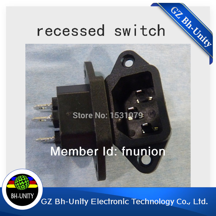 Hot Sale! Spare Parts for Printer Recessed Switch for Printer-in ...
