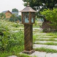 A1 газон напольный светильник водонепроницаемый Пейзаж Сад района street Европейский Стиль светодиодный светильник FG198