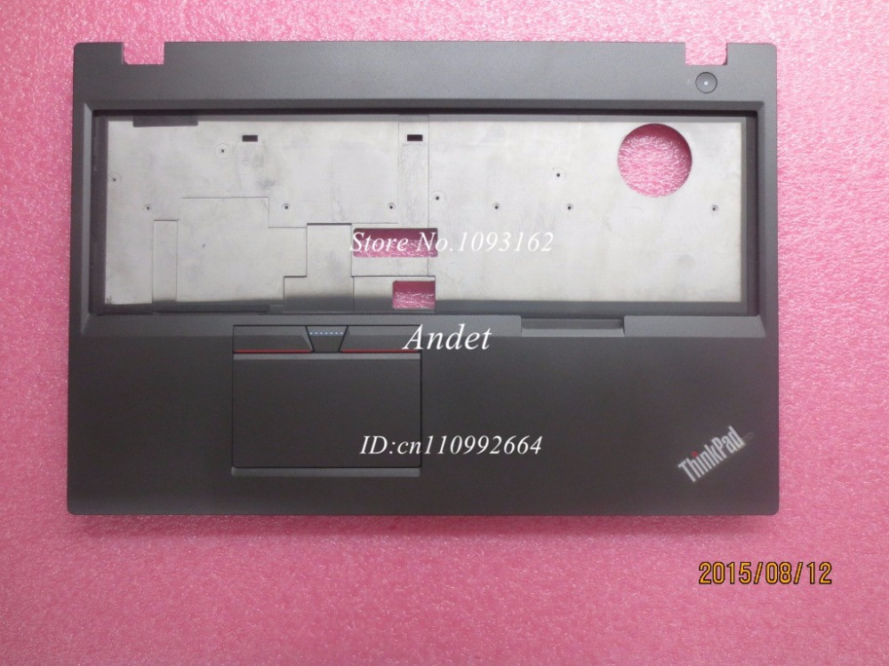 ФОТО New Original for Lenovo ThinkPad T550 W550s Palmrest Keyboard Bezel Cover Upper Case with Touchpad FRU 00NY460