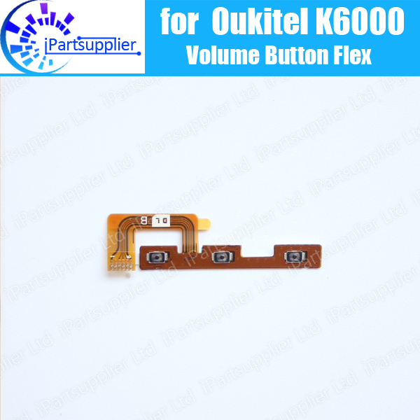 Oukitel K6000 Volume bouton Flex Câble 100% Original Nouveau volume haut/bas bouton Fil FPC Flex Câble pour Oukitel K6000