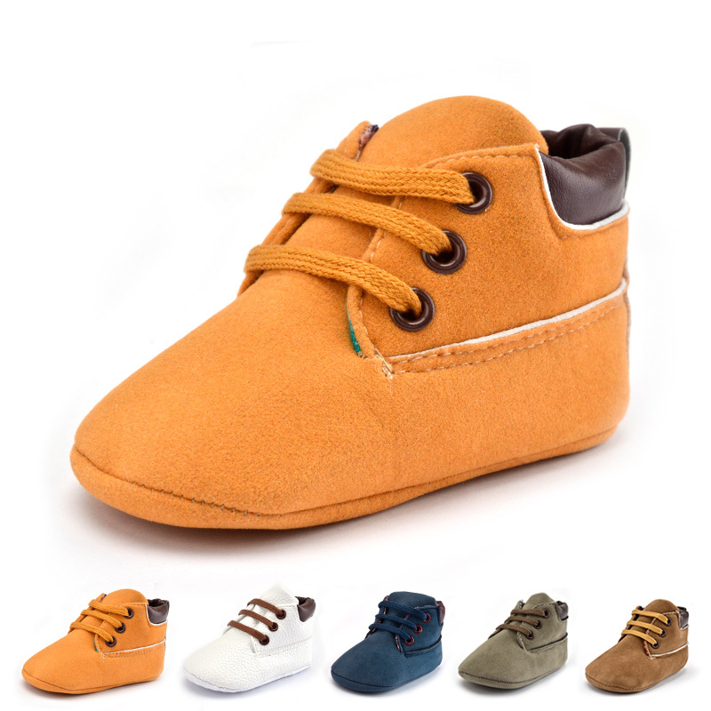 Baby Walking Shoes Baby Boys Boots Shoes Infant Newborn Soft Shoes First Walkers Fashion Casual Warm Booties