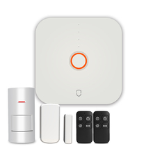 Secustone Hot Cheapest Smart 2.4G Wifi Home Security Alarm System Door Sensor PIR Motion Detector Keyfobs 433MHZ