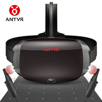 ANTVR VR Headset 2K Virtual Reality 3D Glasses For PC Compatible with Steam VR Cyclop 5.5Dual OLED Helmet virtual pc glasses