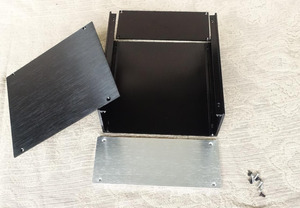 Image 5 - JC229 all aluminum housing can be used as power box / preamp / amplifier chassis case