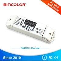 DMX512/1990 Constant voltage Decoder output 10A*1CH PWM DMX single color Controller Dimmer For LED Lamp BC 831 DC12V 24V