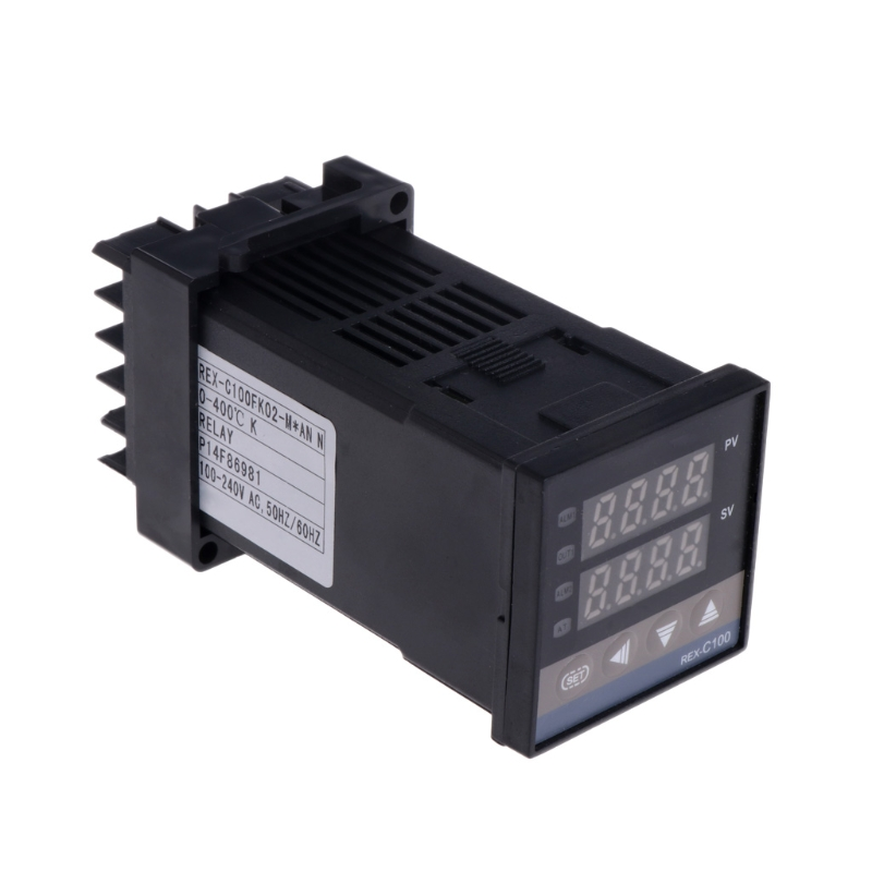 цена на PID Digital Temperature Controller REX-C100(M) 0 To 400 degree K Type Relay Output #0616