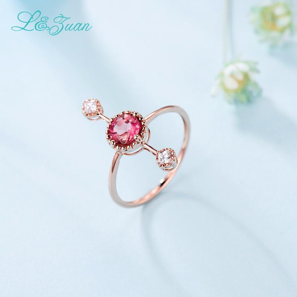 L & Zuan Diamond Бижута 14K Розово злато - Изящни бижута - Снимка 5