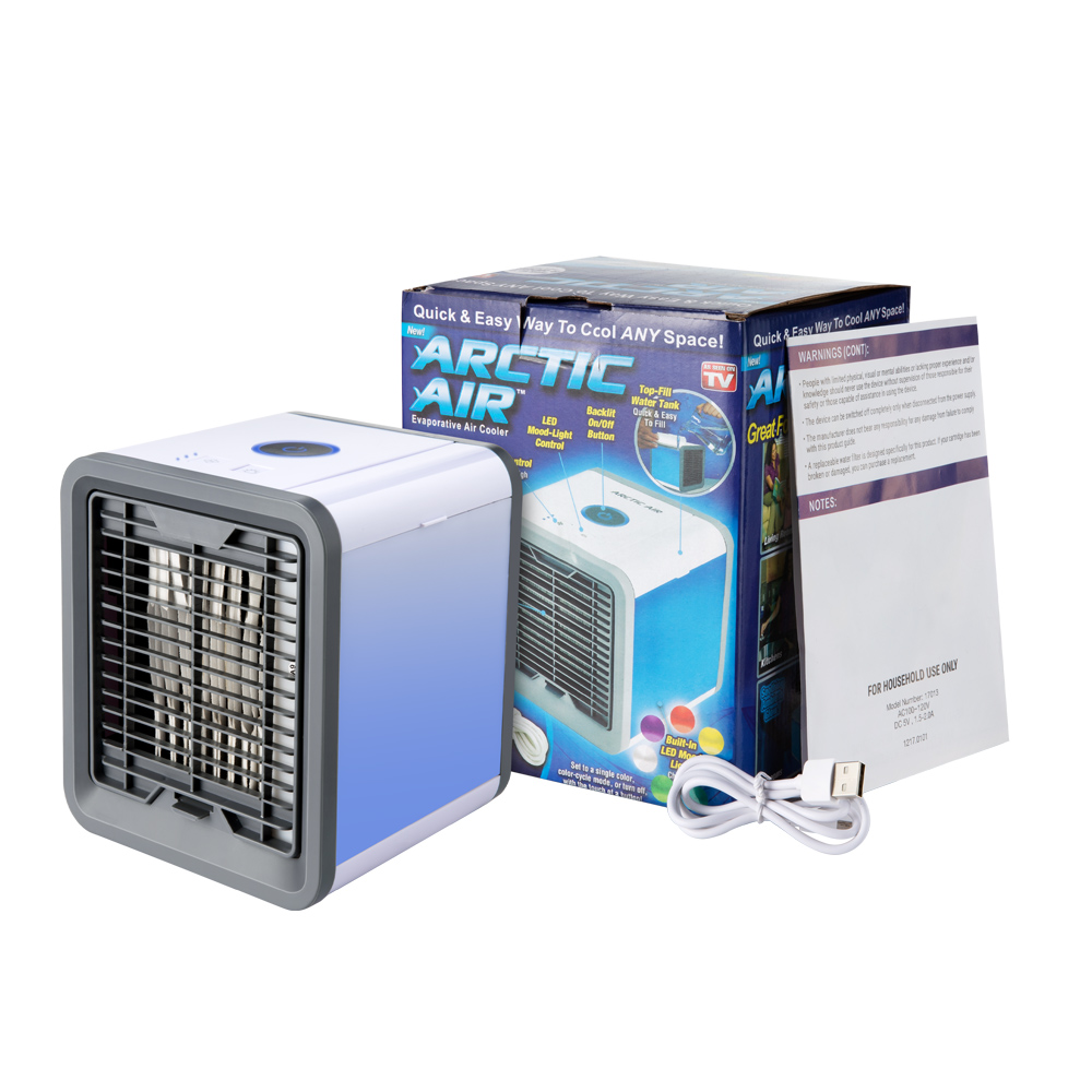 HTB1rJP4KMHqK1RjSZJnq6zNLpXan USB Mini Portable Air Conditioner Humidifier Purifier 7 Colors Light Desktop Air Cooling Fan Air Cooler Fan for Office Home Usb