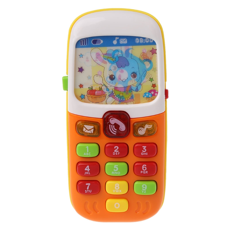 Baby Mobile Phone Educational Learning Toys Electronic Toy Phone Music Toy
