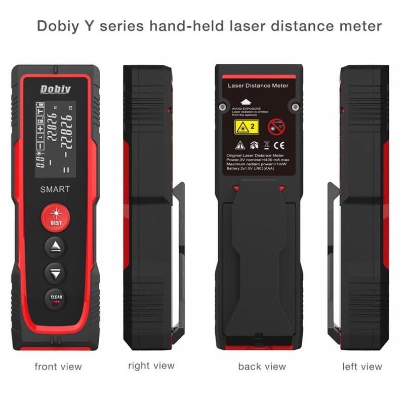 Distance Meter 40M 70M 100M Level Rangefinder Range Finder Tape Measure Area/Volume Digital Laser Distance Meter laser digital rangefinder m2 40m area volume m ft in tool blue range finder hunting measure distance tester hot