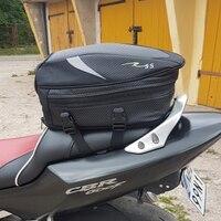 Rock Biker Waterproof Motorcycle Back Seat Bags Top Case Moto Luggage Tail Bag Storage Rear Carry Saddlebag Motorbike Tool Kit