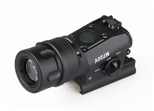 M720V тактический фонарь светодиодный свет быстро Съемный кронштейн с реле давления для охоты черный песок