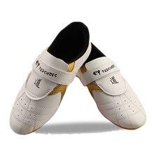 ホット販売 子供/大人テコンドーシューズ通気性耐摩耗性キックボクシングトレーニングスポーツ靴 ヤード 45