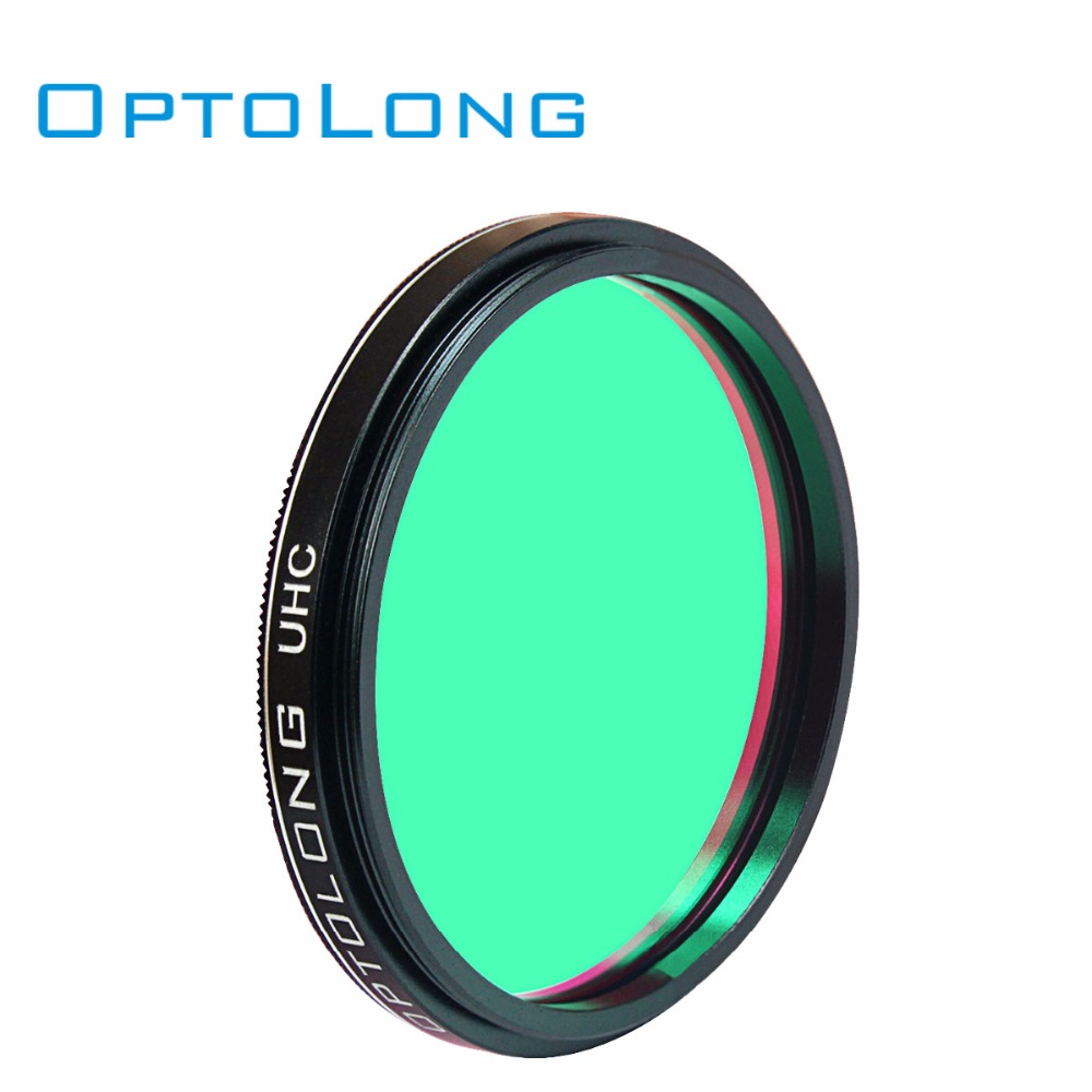OPTOLONG 2 UHC Filter Eyepiece Telescope Astronomy Nebula Filter for Cuts Light Pollution Monocular Telescope W2499A электрогитара на бат свет звук руссифиц в кор 40 19 5 5 5см в кор 2 24шт