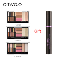 O TWO O Buy 3 Get 1 Gift Buy 3pcs Lot Eyeshadow Highlighter Glitter Blush Contour