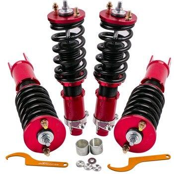 4 шт. комплект стойки для Honda Civic 93-97 Del Sol 92-00 для Honda Civic 94-01 Acura Integra амортизатор подвески