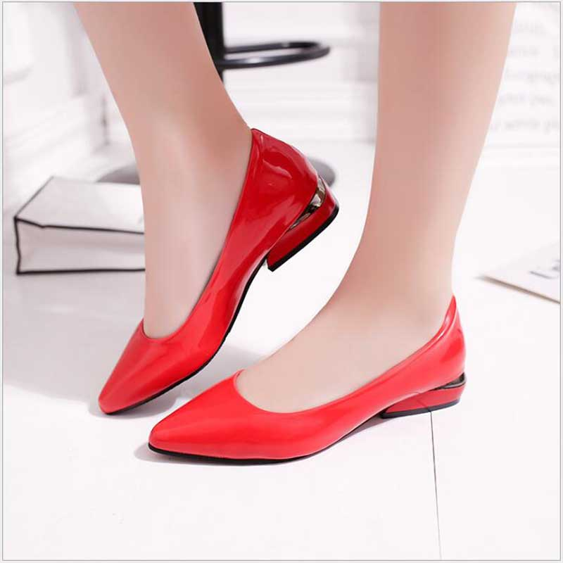 Appartements Femme Slip rouge Luxe Avec blanc on Plates Dames Pour Mujer Mocasines De Black Casual Mocassins Strass Femmes Chaussures Marque xBA088