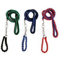 High Quality 1PC Upgraded Color Collar Stereotyped Rope Large Dog Leashes Pet Traction Rope Collar Set