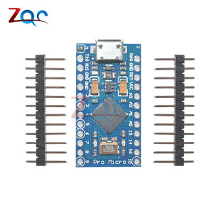 ATmega32U4 Pro Micro USB 5V 16MHz Board Module For Arduino Leonardo ATMega 32U4 Controller Pro-Micro Replace Pro Mini With Pins(China)