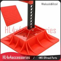 Recovery Universal Farm Jack Base For High Lift Jack Base Plate Farm Jack Stand Truck