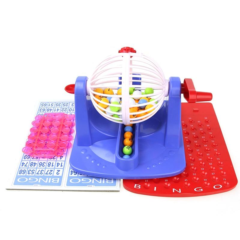 Bingo Lotto Classic Traditional Family Board Game Kids Children Party Bingo Toys
