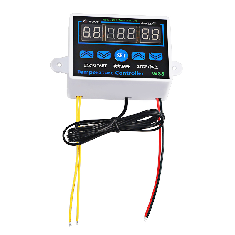 LEDSMITH W88 110V 220V Digital Thermostat Temperature Controller Thermoregulator for incubator Relay 10A Heating Cooling Control in Temperature Instruments from Tools