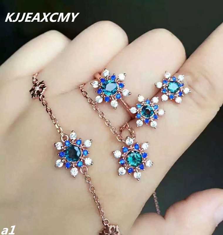 KJJEAXCMY Fine jewelry, 925 Sterling Silver Earrings with Natural Sapphire Earrings, rings, gold and silver certificatesKJJEAXCMY Fine jewelry, 925 Sterling Silver Earrings with Natural Sapphire Earrings, rings, gold and silver certificates