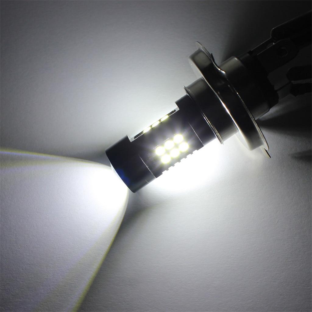 Image 5 - 2 шт. светодиодный противотуманный фонарь для автомобиля 12 В DC H4 3030 21 светодиодный фонарь белый 6500 к автомобильная противотуманная фара передняя лампа лампочки для автомобилей-in Автофара против тумана from Автомобили и мотоциклы